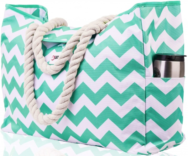 "Beach Bag XL | Waterproof (IP64) | L17""xH15""x W6"" (43x38x15cm) 