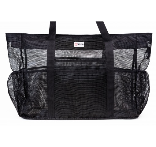 "Mesh Beach Bag XXL | H24""xW18""xD8"" (60x46x20cm) 