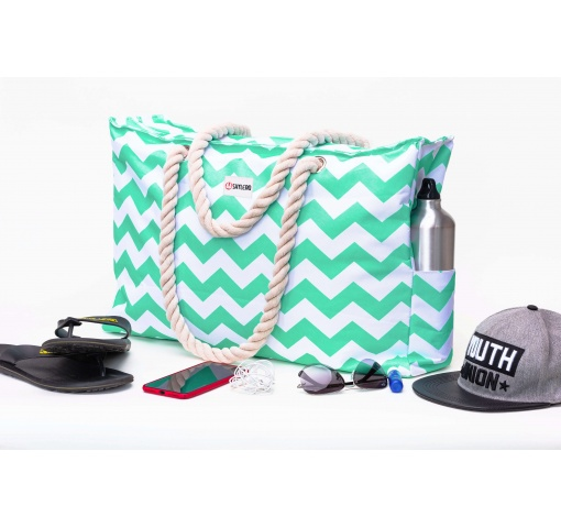 "Beach Bag XL| Waterproof (IP64)| L22""xH15""x W6"" (56x38x15cm) 