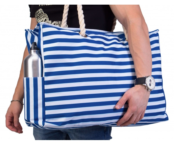 "Beach Bag XL | Waterproof (IP64) | L22""xH15""xW6"" (56x38x15cm) 