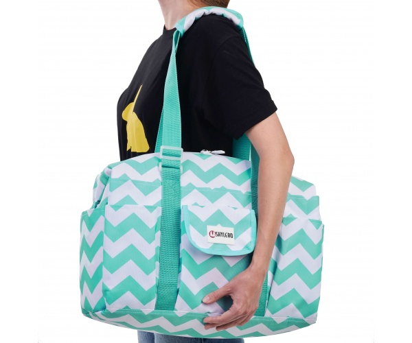 "Utility Tote and Nurse Bag | Waterproof (IP64) | L18""xH14""x W7"" (46x36x18cm) 